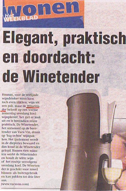 winetender